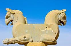 Statua del grifone Immagini Stock Libere da Diritti