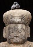 Statua del guardiano del tempiale indù Immagine Stock