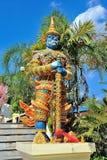 Statua del guardiano gigante tailandese Fotografia Stock Libera da Diritti