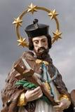 Statua del Jesus a Ischl difettoso - l'Austria Immagini Stock