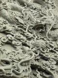 Statua del lavoro in pietra del drago Fotografia Stock Libera da Diritti