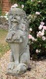 Statua del leone Immagini Stock