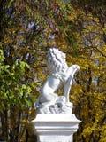 Statua del leone Fotografia Stock Libera da Diritti