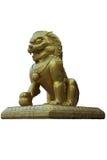 Statua del leone della Cina Immagini Stock