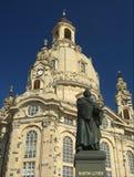 Statua del luther del Martin Fotografia Stock Libera da Diritti