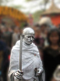 Statua del Mahatma Gandhi Fotografia Stock