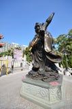 Statua del maiale in Wong Tai Sin Temple, Hong Kong Immagine Stock Libera da Diritti
