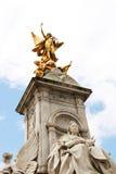 Statua del memoriale della regina Victoria Fotografie Stock Libere da Diritti