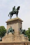 Statua del memoriale di Garibaldi Immagini Stock Libere da Diritti