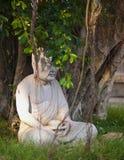 Statua del monaco Immagine Stock Libera da Diritti