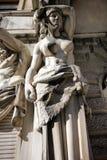 Statua del monumento storico in San Pietroburgo Fotografia Stock Libera da Diritti