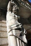 Statua del monumento storico in San Pietroburgo Fotografie Stock