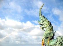 Statua del naga Fotografia Stock
