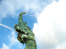 Statua del naga Fotografie Stock