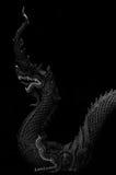 Statua del Naga con monocromio Fotografia Stock Libera da Diritti