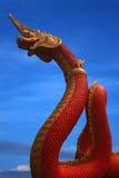 Statua del Naga della Tailandia Immagine Stock Libera da Diritti