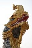 Statua del Naga di Phaya Fotografie Stock Libere da Diritti