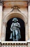 Statua del Napoleon Bonaparte a Les Invalides Immagine Stock