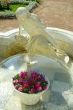 Statua del narciso in Peterhof Fotografie Stock