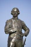 Statua del Nelson, Portsmouth Fotografie Stock