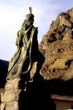 statua del Perù Fotografia Stock