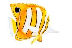 Statua del pesce della farfalla Fotografie Stock