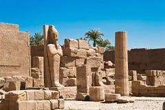 Statua del Pharaoh Immagini Stock