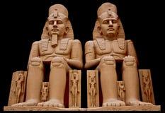 Statua del pharaoh di egyption Fotografie Stock