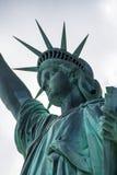 Statua del primo piano di libertà Fotografia Stock