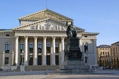 Statua del re Maximilian I Joseph, Monaco di Baviera Immagini Stock Libere da Diritti