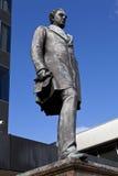 Statua del Robert Stephenson alla stazione di Euston immagine stock libera da diritti