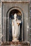 Statua del san Blaise, patrono di Dubrovnik Immagine Stock Libera da Diritti