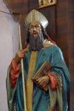 Statua del san, chiesa del san Mary Magdalene in Donja Kupcina, Croazia Immagine Stock