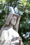 Statua del san Faustina sull'altare tre millenni, Skalka, Cracovia, Polonia Immagini Stock
