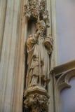 Statua del san nella cattedrale la città olandese di Den Bosch Fotografie Stock