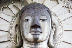 Statua del simbolo di Buddha, reso a sabbia del frome, Tailandia Fotografia Stock