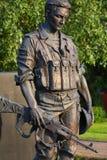 Statua del soldato Immagine Stock Libera da Diritti