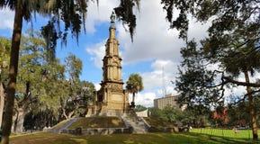 Statua del soldato confederato Fotografia Stock