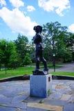 Statua del soldato della città universitaria Immagine Stock