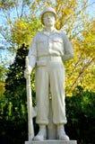 Statua del soldato sconosciuto Fotografie Stock Libere da Diritti