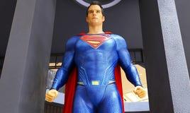 Statua del superman fotografia stock
