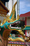 Statua del tempiale Burmese Immagini Stock