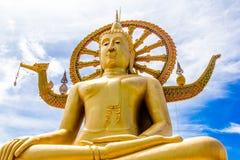 Statua del tempio del lago Samui Immagini Stock Libere da Diritti