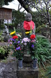 Statua del tempio di Hase-dera Fotografia Stock