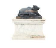 Statua del toro immagine stock