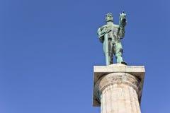 Statua del vincitore o statua della vittoria Immagine Stock Libera da Diritti