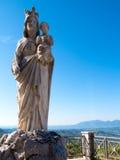 Statua del Virgin Mary Fotografia Stock
