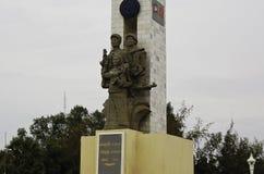 Statua dell'alleanza con la a vietnamita Phnom Penh, capitale fotografia stock libera da diritti