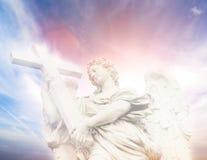 Statua dell'angelo fotografia stock libera da diritti