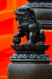 Statua dell'annata Fotografie Stock